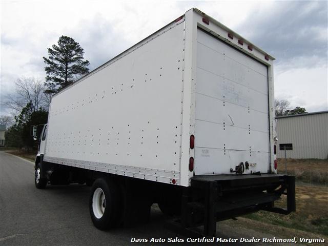 1995 Ford F700 CF7000 Cargo Series Diesel Roll Up 24 Foot Box Truck Van - Photo 3 - Richmond, VA 23237
