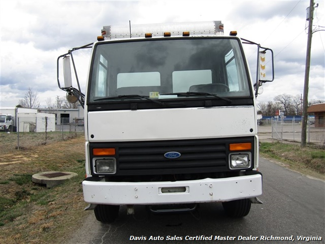 1995 Ford F700 Cf7000 Cargo Series Diesel Roll Up 24 Foot Box  Sold
