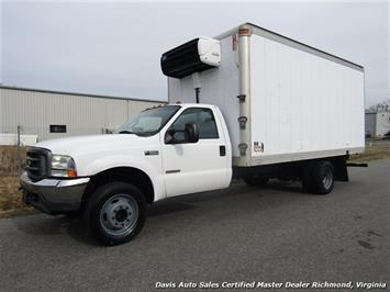 2004 Ford F-550 Super Duty XL Power Stroke Turbo Diesel Regular Cab Refrigerated Box Truck