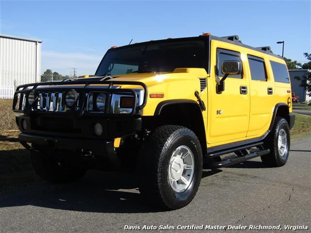 2003 Hummer H2 Lux Series 4X4 Yellow - Photo 1 - Richmond, VA 23237