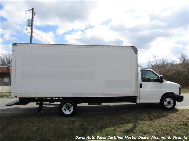 2011 GMC Savana 3500 Cargo 16 Foot Commerical Work Supreme Box Cube Van Walk Ramp - Photo 14 - Richmond, VA 23237