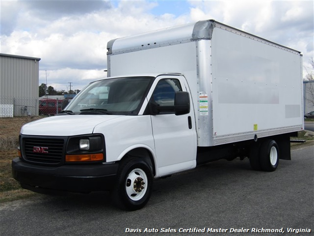 2011 GMC Savana 3500 Cargo 16 Foot Commerical Work Supreme Box Cube Van Walk Ramp - Photo 1 - Richmond, VA 23237