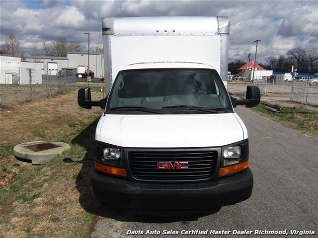 2011 GMC Savana 3500 Cargo 16 Foot Commerical Work Supreme Box Cube Van Walk Ramp - Photo 17 - Richmond, VA 23237