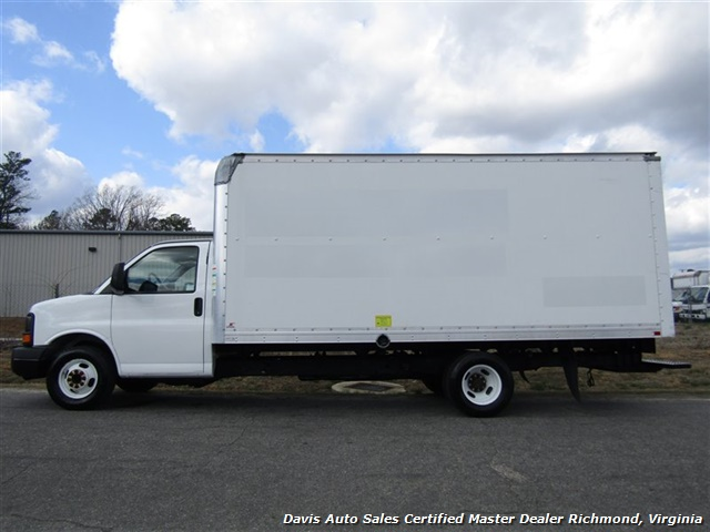 2011 GMC Savana 3500 Cargo 16 Foot Commerical Work Supreme Box Cube Van Walk Ramp - Photo 2 - Richmond, VA 23237