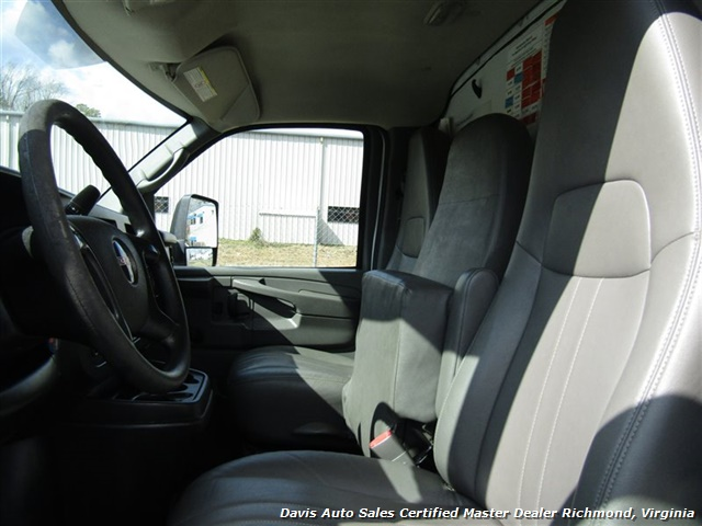 2011 GMC Savana 3500 Cargo 16 Foot Commerical Work Supreme Box Cube Van Walk Ramp - Photo 7 - Richmond, VA 23237