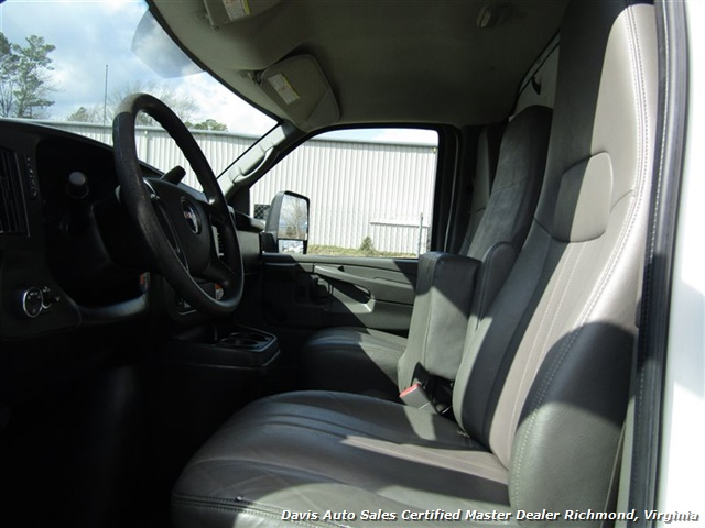 2011 GMC Savana 3500 Cargo 16 Foot Commerical Work Supreme Box Cube Van Walk Ramp - Photo 20 - Richmond, VA 23237
