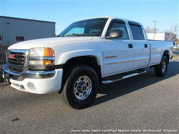 2004 GMC Sierra 2500 HD SLE 4X4 Crew Cab Long Bed Truck