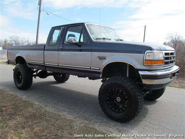 Ford F350 4 Door Extended Cab >> 1994 Ford F-250 XLT 4X4 Extended Cab Long Bed