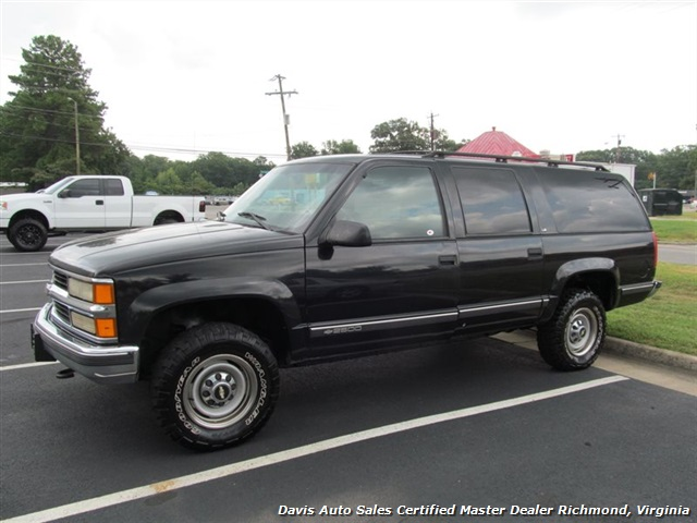 1999 chevrolet suburban lt 2500