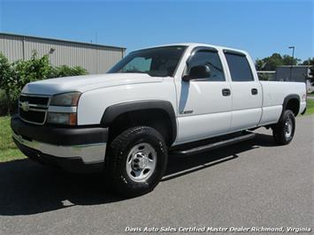 2006 Chevrolet Silverado 3500 LS 4X4 Crew Cab Long Bed Work Truck