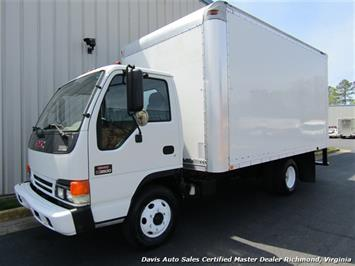 2003 GMC W3500 Turbo Diesel Isuzu Box Commercial 14 Foot Work Truck