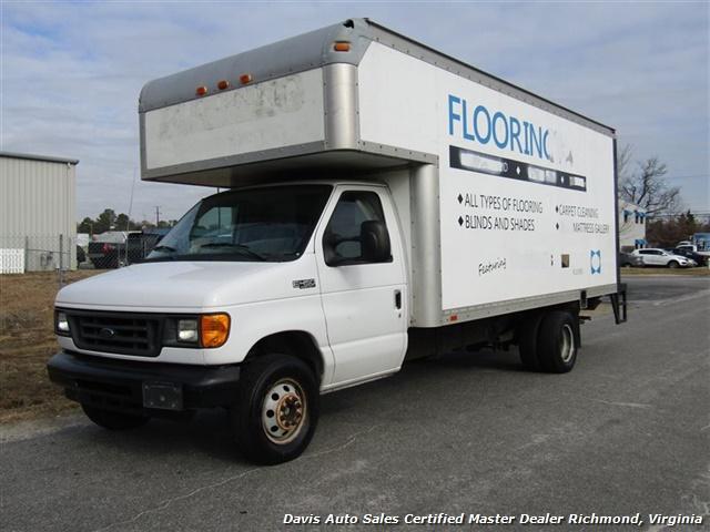 2005 Ford E-Series Van E-450 Super Duty Diesel 15 Foot Box Work Lift Gate - Photo 1 - Richmond, VA 23237