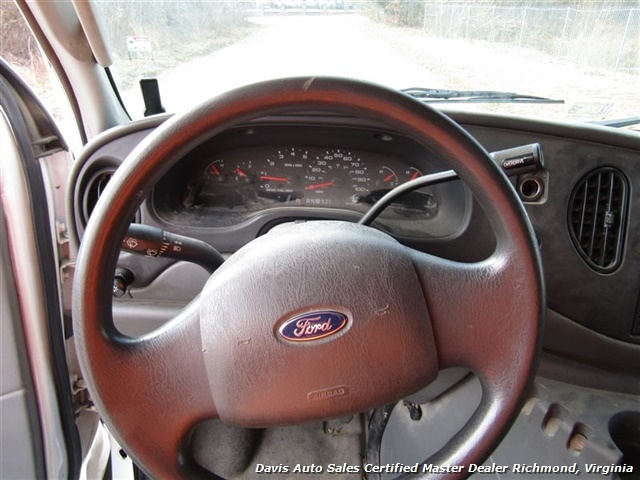 2005 Ford E-Series Van E-450 Super Duty Diesel 15 Foot Box Work Lift Gate - Photo 6 - Richmond, VA 23237