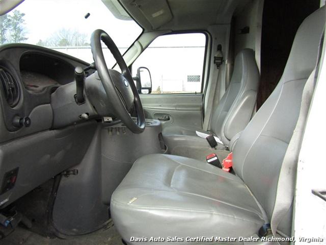 2005 Ford E-Series Van E-450 Super Duty Diesel 15 Foot Box Work Lift Gate - Photo 18 - Richmond, VA 23237
