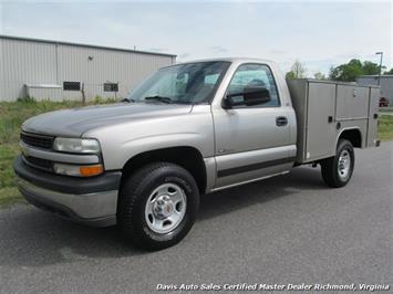 2000 Chevrolet Silverado 2500 HD Regular Cab Long Bed Utility Truck
