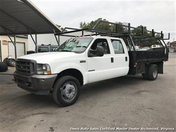 2002 Ford F-450 Super Duty XL 7.3 Diesel 4X4 Dually Commercial Crew Cab Flat Bed - Photo 28 - Richmond, VA 23237