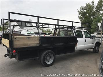 2002 Ford F-450 Super Duty XL 7.3 Diesel 4X4 Dually Commercial Crew Cab Flat Bed - Photo 25 - Richmond, VA 23237