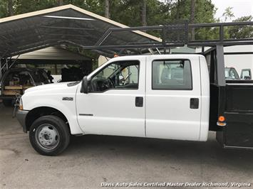 2002 Ford F-450 Super Duty XL 7.3 Diesel 4X4 Dually Commercial Crew Cab Flat Bed - Photo 30 - Richmond, VA 23237