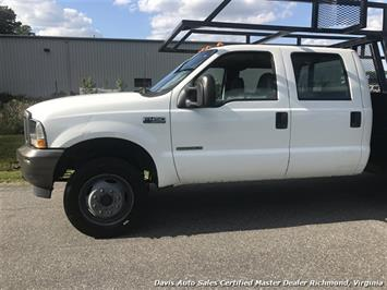 2002 Ford F-450 Super Duty XL 7.3 Diesel 4X4 Dually Commercial Crew Cab Flat Bed - Photo 2 - Richmond, VA 23237