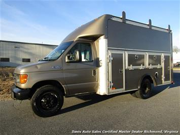 2005 Ford E-350 Super Duty XL Diesel DRW Box Work Bin KUV Utility Cargo Van