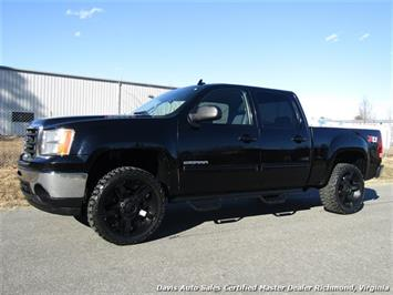 2010 GMC Sierra 1500 Lifted 4x4 Z71 SLE Crew Cab Short Bed Truck