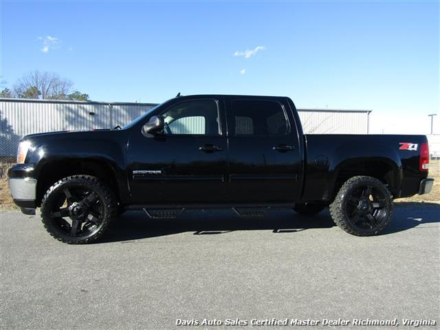 2010 gmc sierra 1500 lifted 4x4 z71 sle crew cab short bed. Black Bedroom Furniture Sets. Home Design Ideas