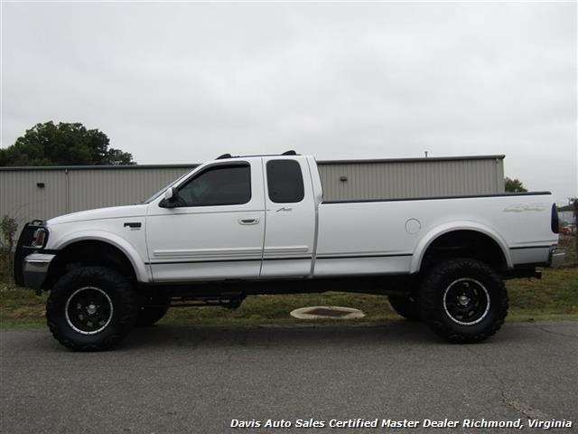 Ford F  Lariat Lifted X Extended Cab Long Bed Photo