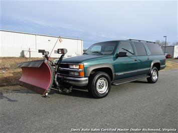 1997 Chevrolet Suburban K 2500 HD LS 4X4 Snow Plow Salt Spreader Low Miles SUV