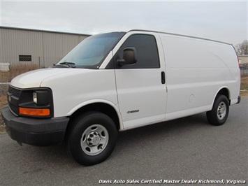 2005 Chevrolet Express 3500 Cargo Work Van Van