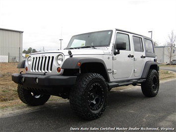 2011 Jeep Wrangler Unlimited Sport Lifted 4X4 Hard Top Off Road SUV