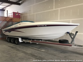 1997 Sonic 28SS 28 Foot Cuddy Cabin Performance Boat