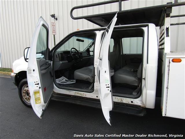 2002 Ford F-450 Super Duty XL 7.3 Diesel Crew Cab 12 Foot Utility Bin Body - Photo 14 - Richmond, VA 23237