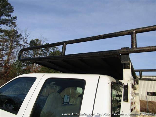 2002 Ford F-450 Super Duty XL 7.3 Diesel Crew Cab 12 Foot Utility Bin Body - Photo 5 - Richmond, VA 23237