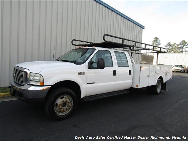 2002 Ford F-450 Super Duty XL 7.3 Diesel Crew Cab 12 Foot Utility Bin Body - Photo 22 - Richmond, VA 23237