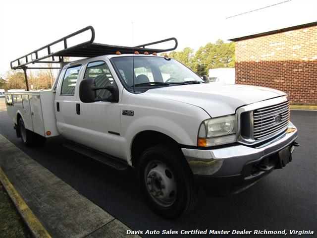 2002 Ford F-450 Super Duty XL 7.3 Diesel Crew Cab 12 Foot Utility Bin Body - Photo 19 - Richmond, VA 23237