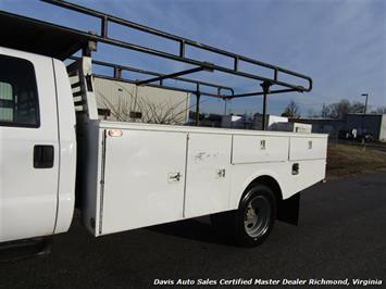2002 Ford F-450 Super Duty XL 7.3 Diesel Crew Cab 12 Foot Utility Bin Body - Photo 4 - Richmond, VA 23237
