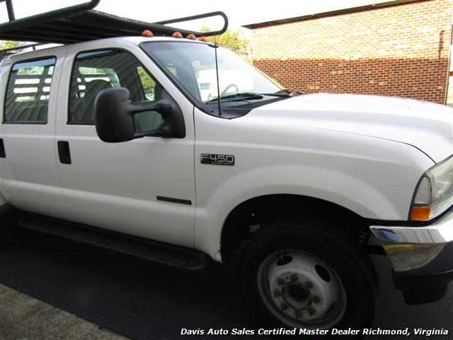 2002 Ford F-450 Super Duty XL 7.3 Diesel Crew Cab 12 Foot Utility Bin Body - Photo 20 - Richmond, VA 23237