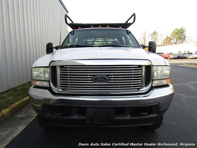 2002 Ford F-450 Super Duty XL 7.3 Diesel Crew Cab 12 Foot Utility Bin Body - Photo 21 - Richmond, VA 23237