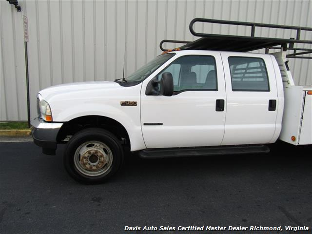 2002 Ford F-450 Super Duty XL 7.3 Diesel Crew Cab 12 Foot Utility Bin Body - Photo 23 - Richmond, VA 23237