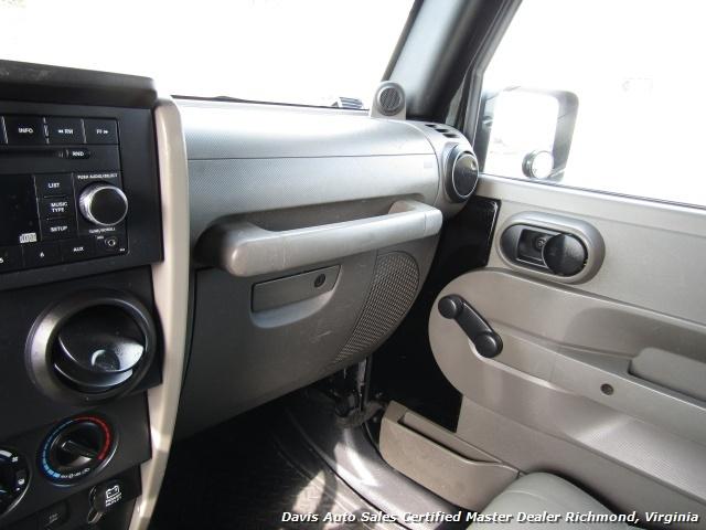 2008 Jeep Wrangler Unlimited X Sport 4X4 Lifted Hard Top - Photo 18 - Richmond, VA 23237