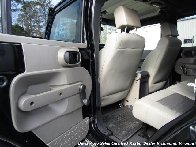 2008 Jeep Wrangler Unlimited X Sport 4X4 Lifted Hard Top - Photo 19 - Richmond, VA 23237