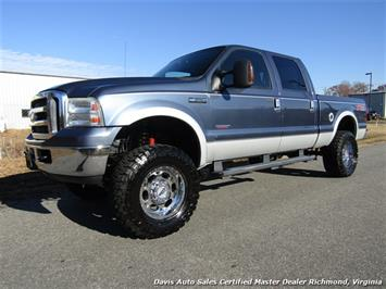 2007 Ford F-350 Super Duty Lariat Lifted Diesel FX4 4X4 Crew Cab Truck