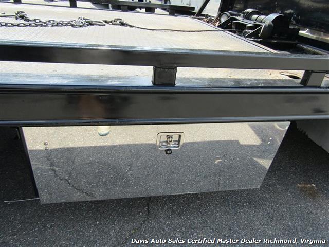2010 Hino 258 Rollback 21 Foot Steel Bed Wheel Lift Tow - Photo 4 - Richmond, VA 23237