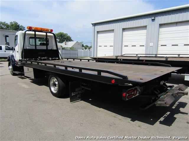 2010 Hino 258 Rollback 21 Foot Steel Bed Wheel Lift Tow - Photo 17 - Richmond, VA 23237