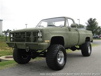 1985 Chevrolet D30 K30 Military Unit Lifted 4X4 Regular Cab Long Bed Truck