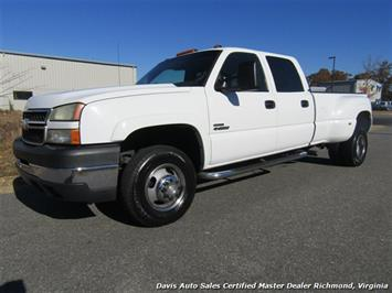 2007 Chevrolet Silverado 3500 Classic LS 6.6 Duramax Diesel Dually 4X4 Crew Cab Long Bed Truck