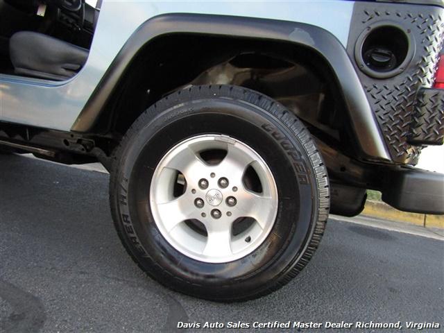 1999 Jeep Wrangler Sport SE 4X4 Manual Soft Top Off Road 4 Cylinder - Photo 20 - Richmond, VA 23237