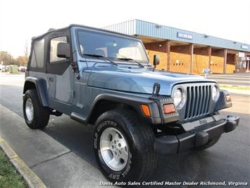 1999 Jeep Wrangler Sport SE 4X4 Manual Soft Top Off Road 4 Cylinder - Photo 12 - Richmond, VA 23237