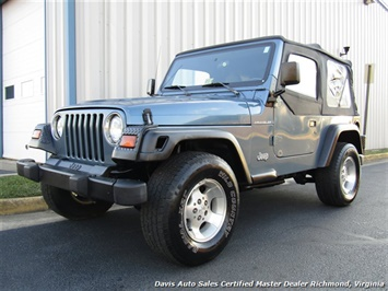 1999 Jeep Wrangler Sport SE 4X4 Manual Soft Top Off Road 4 Cylinder SUV