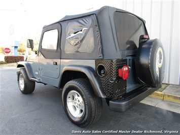1999 Jeep Wrangler Sport SE 4X4 Manual Soft Top Off Road 4 Cylinder - Photo 3 - Richmond, VA 23237
